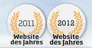 Finya Test - Auszeichnung - Website des Jahres