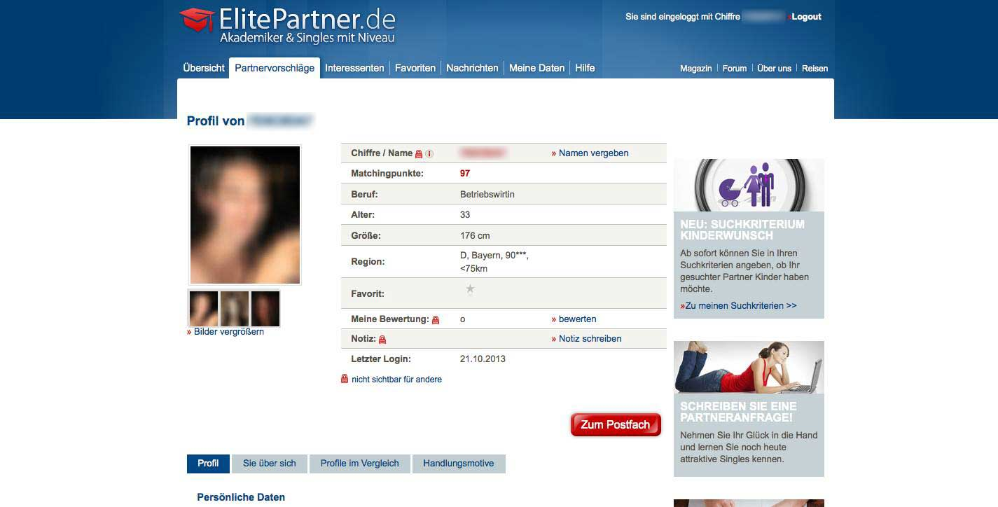 Elitepartner Single