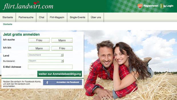 Landwirte partnervermittlung