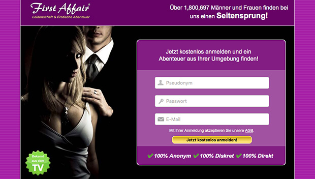 First Affair Bewertung