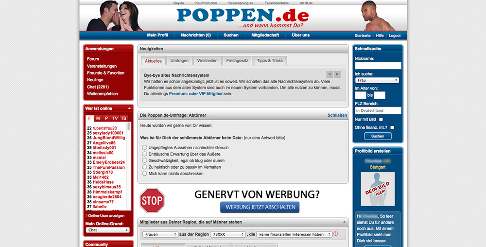 ppppen de erotik chat deutsch