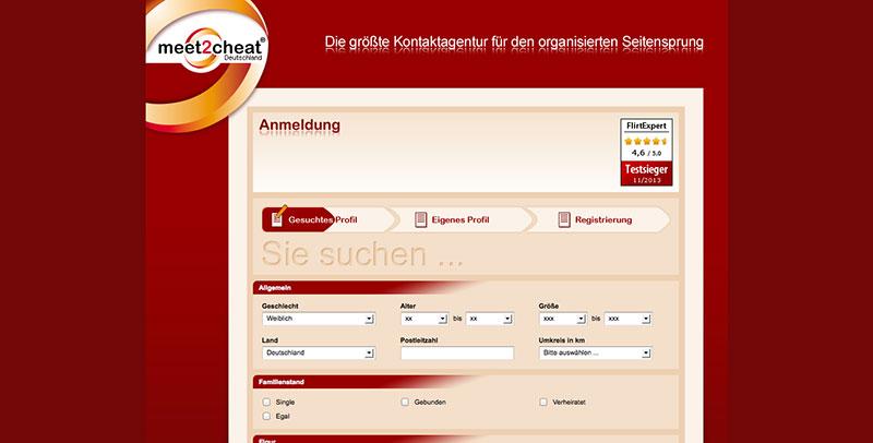 meet2cheat Registrierung