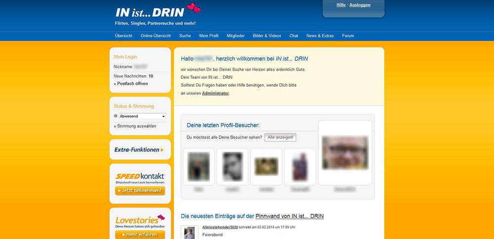 IN-ist-DRIN Mitgliederbereich