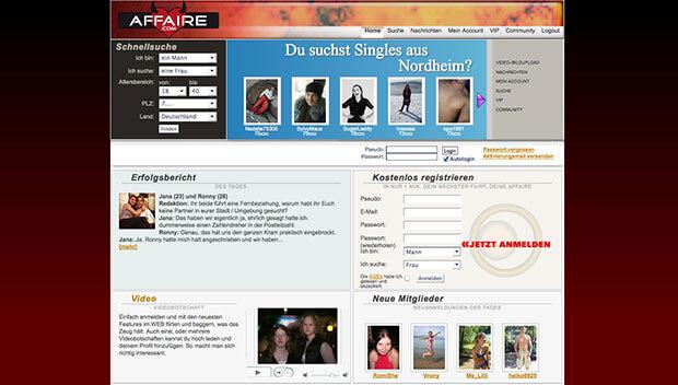 affären portal Saarbrücken