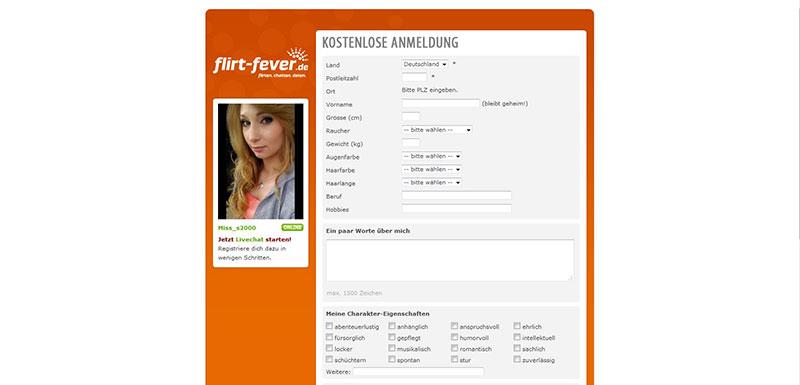 flirt-fever Registrierung
