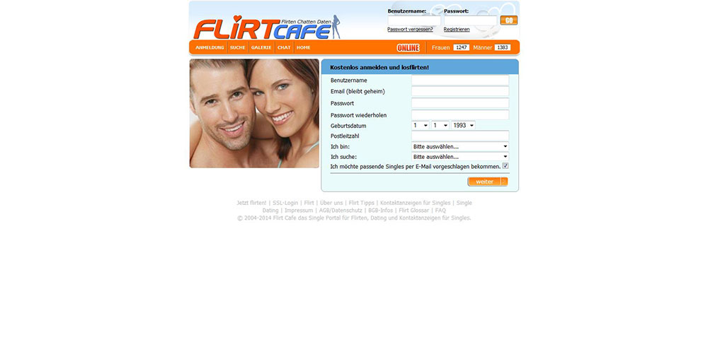 Flirtcafe kostenlos