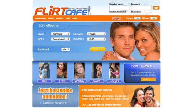 Flirtcafe account kostenlos