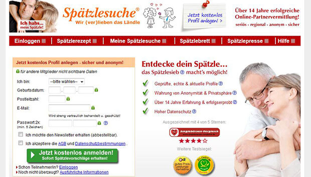 spaetzle partnervermittlung single bauer sucht frau