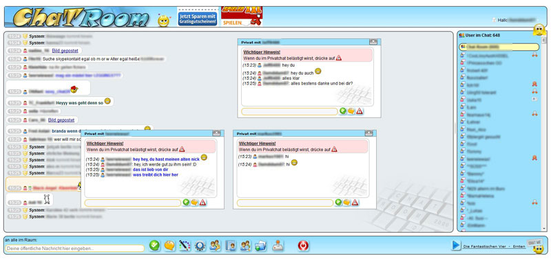 Chatroom2000 Dialogchat