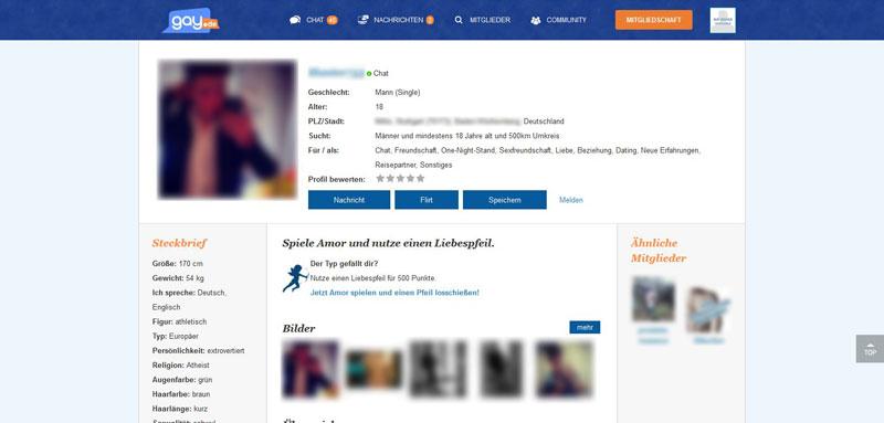 neu de profil abmelden