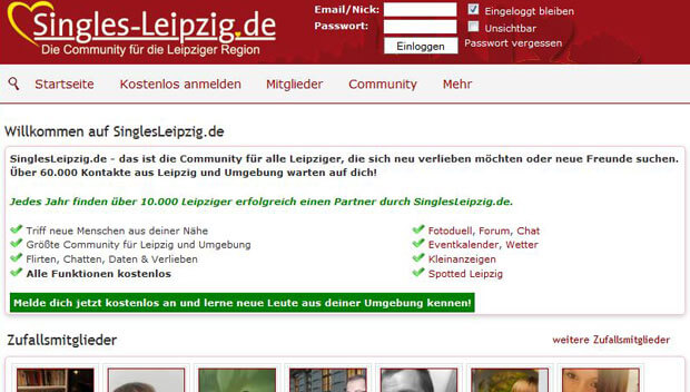Dating portal leipzig