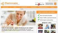 Platinnetz-Screen