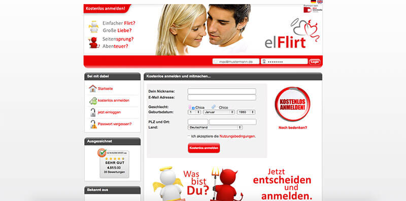 Kostenlose dating-sites mit chat-linie