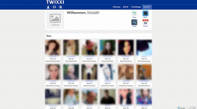 Twixxi-Mitgliederbereich