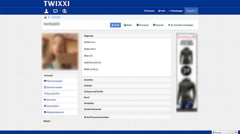 Twixxi-Profil