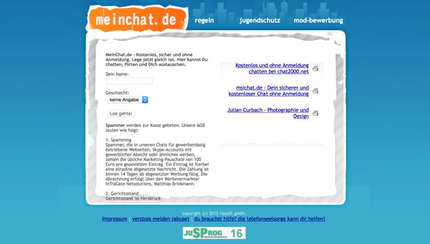 Mein-Chat-Screen