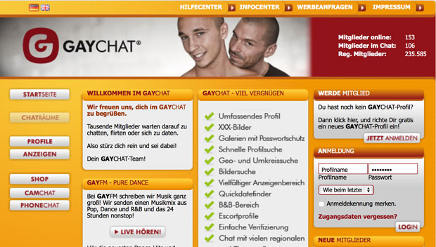 GAYCHAT-Screen