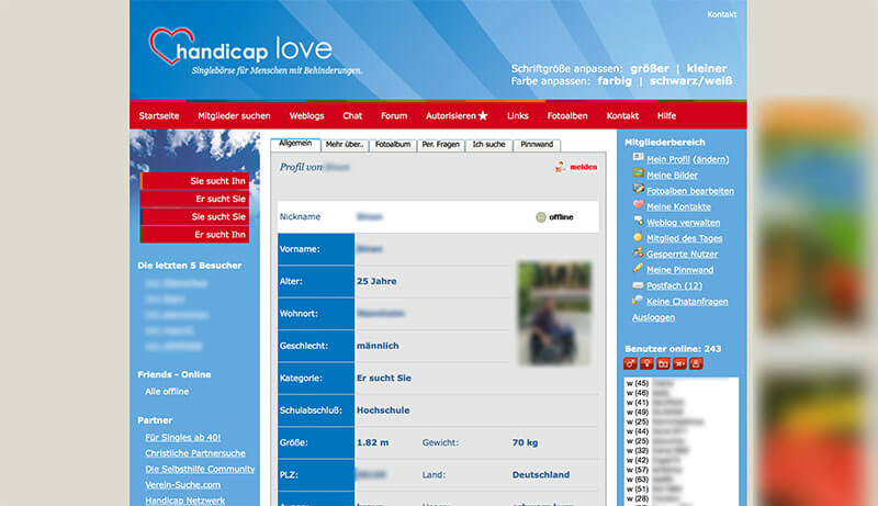 Handicap-Love-Profil