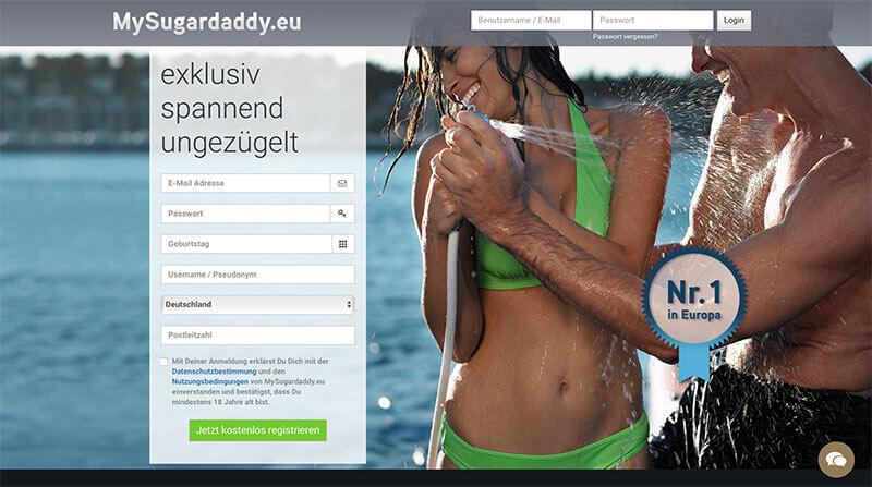 MySugardaddy-Anmeldung