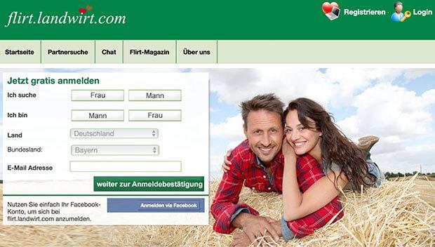 Partnervermittlungen für landwirte
