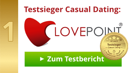 Testsieger Casual Dating: LOVEPOINT