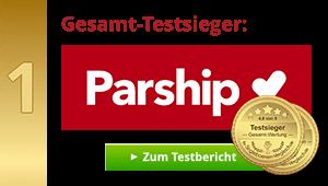 Gesamt-Testsieger: PARSHIP