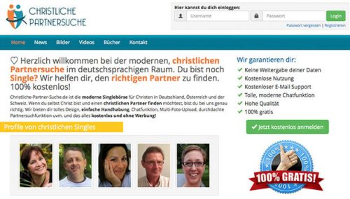 Christliche partnersuche elitepartner