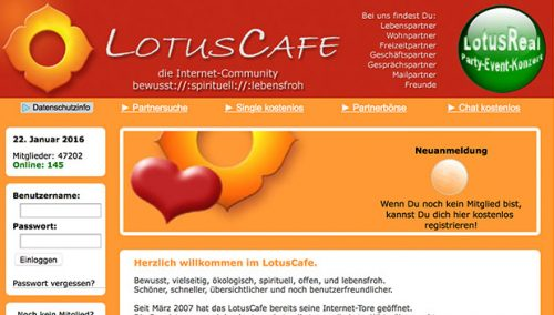 Partnervermittlung lotus